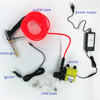 Portable Car Washer Pump 12V Adjustable Valve, Nozzle High Pressure Car Washer