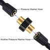 Male M22 High Pressure Car Washer Hose Qiucik Connect Adapter