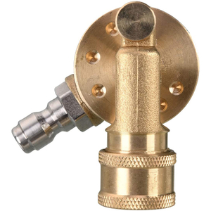 4500 PSI, 240 Degree Pivoting Coupler for Pressure Washer Nozzle